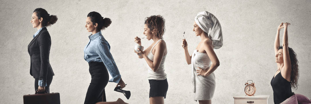 Woman-Daily-Habits-Bed-Shower-Breakfast-Dress-Work-2-1080x362.jpg